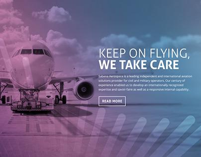 Sabena aerospace website