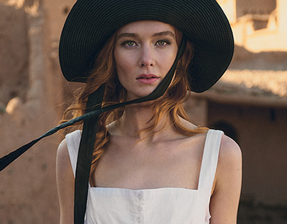 fashionshoot in Marocco with Sarah Pauley for tulsi