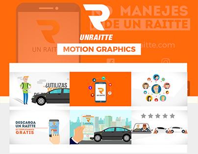 UnRaitte |Motion Graphics