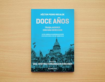 Diseño de cubierta y foto de tapa para libro político