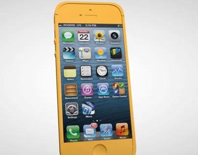 Iphone 5S  - Cinema 4D