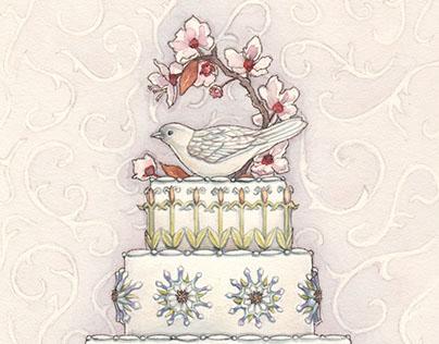 Whimsical card designs