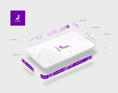 Design Concept. Rink in Jurmala.