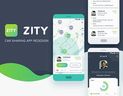 ZITY App Redesign UI/UX