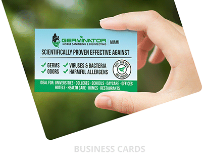 Business Cards - THE GERMINATOR