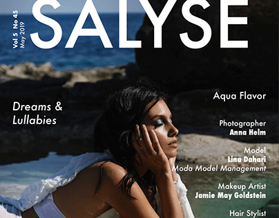 Coverstory for SALYSE Magazine
