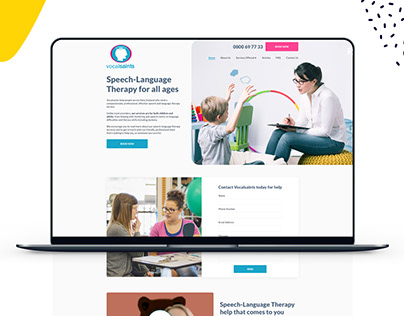 Speech Language Web Design