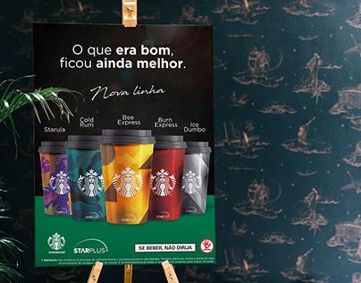 Starbucks - Linha Star Plus - Fictício