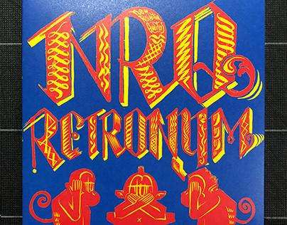 "NRQ""RETRONYM"" CD jacket design"