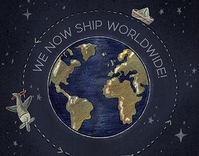 Worldwide Shipping • Animation