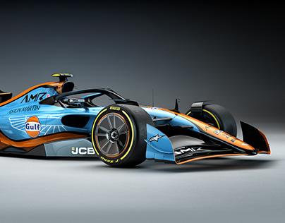 F1 Aston Martin Concept 2021