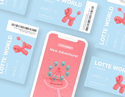 Lotte World App_redesign