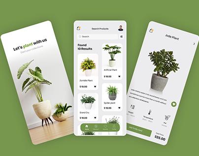 On Demand Plants Ordering App