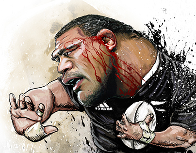 Rugby World Cup 2015 Caricatures