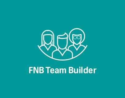 FNB Team Builder - UX/UI Design
