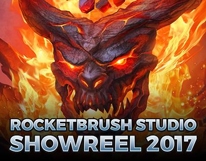 RocketBrush Studio — Showreel 2017