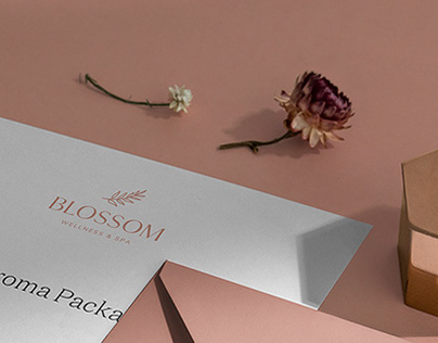 Blossom Wellness & Spa | Brand Identity & Stationary