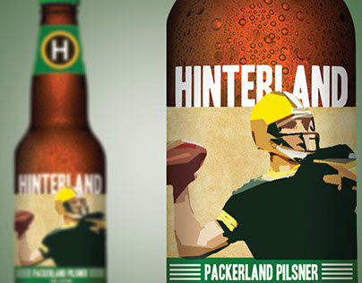 Hinterland Beer Labels