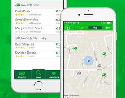 Food Truck Finder App
