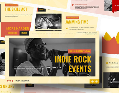 Indie Rock Events   Multipurpose Template