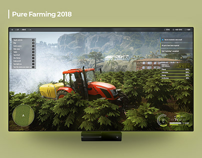 Pure Farming 2018 - Game UI Design