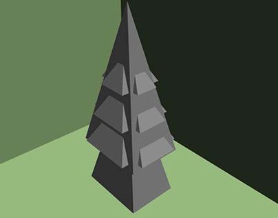 삼3 나무기둥 석탑 Three wooden pillars stone tower