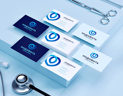 Indivita — Identity / web / interior for clinic