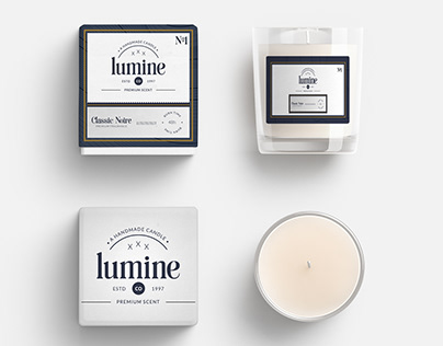 Premium Candle Packaging
