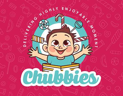 Chubbies candy shop Branding