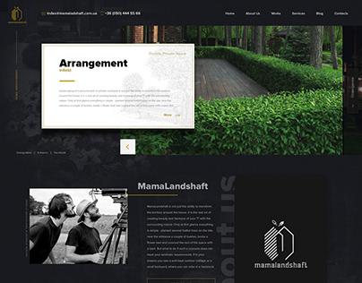 project office landscape design