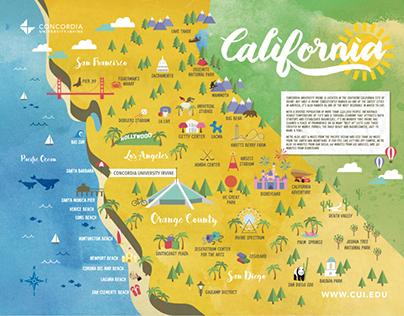 NYG California Map