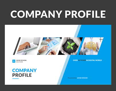 Company Profile Keynote Template On Behance