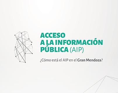 ACCESO A LA INFORMACIÓN PÚBLICA (AIP)