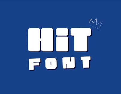 Hit Font :: Uppercase Urban Font