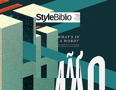 The What's In A Word issue - Style Biblio Magazine