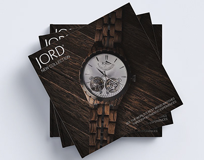 JORD* Watch Catalog Design Concept