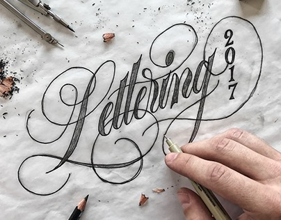 Calligraphy and Lettering Collection - 2017 pt.2