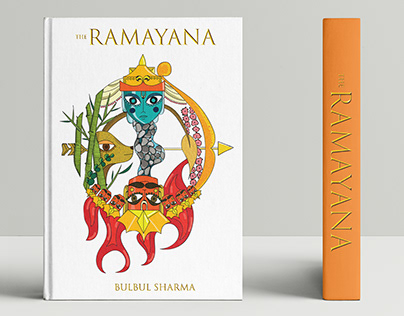 Ramayana- The book cover