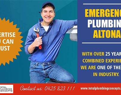 Emergency plumbing altona
