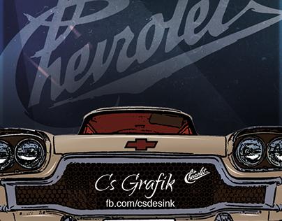 Chevrolet Vintage Poster
