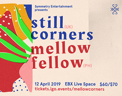 Gig Poster for Still Corners/Mellow Fellow