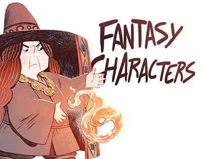Fantasy Characters Compilation