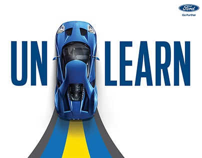 Ford 'Unlearn' Campaign - Full CGI & Retouching