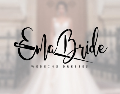 "Wedding dresses logo ""Emma Bride"""