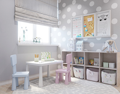 Kids room for little princess