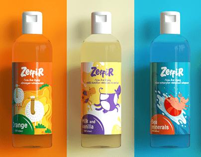 Home goods advertising | Zeffir brand