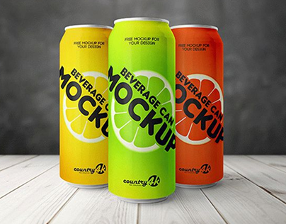 10 Best Free Can Mockups For 2019