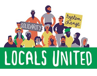Locals United / Illustrated Logo