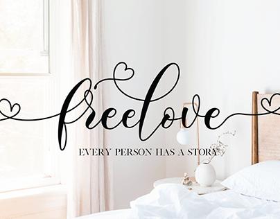 Freelove Lovely Font