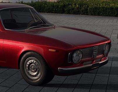 Alfa Giulia GTA - 1965 | Free Download - 3D model